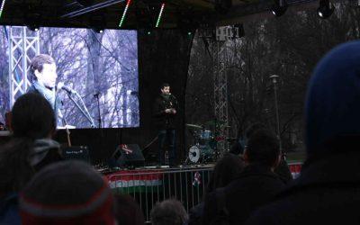 """""""A '48-as generáció mert álmodni"""" – Fekete-Győr András beszéde március 15-én"""