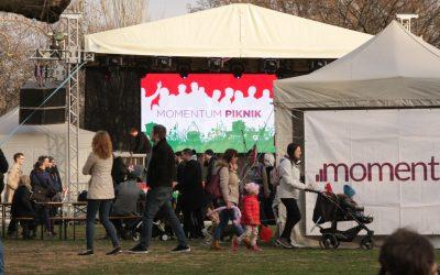 Tüntetés helyett piknikeztünk március 15-én