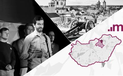 Egerben folytatódott a Momentum országjárása