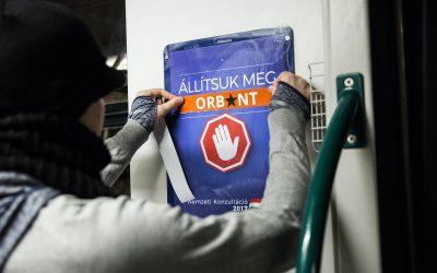A plakátjavítás nem bűncselekmény és nem szabálysértés