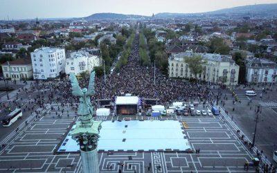Tízezren mondtuk: Európához tartozunk!