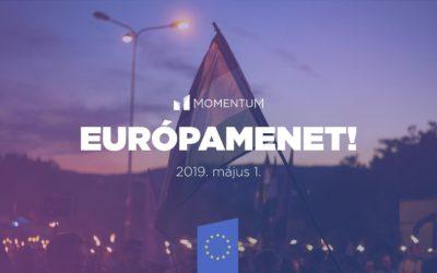 Május elsején újra Európamenet!