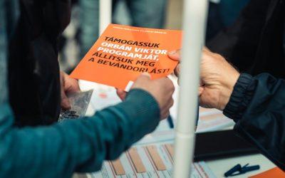 Elfogadta a Momentum panaszát a Kúria: Megtévesztő a Fidesz aláírásgyűjtése