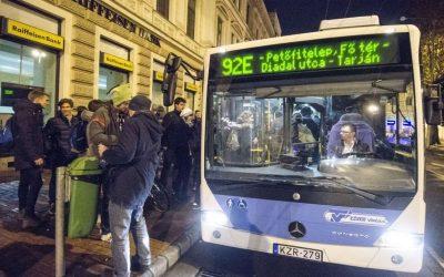 A Momentum javaslatára bővül az éjszakai közlekedés Szegeden