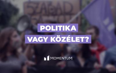 Politika vagy közélet?