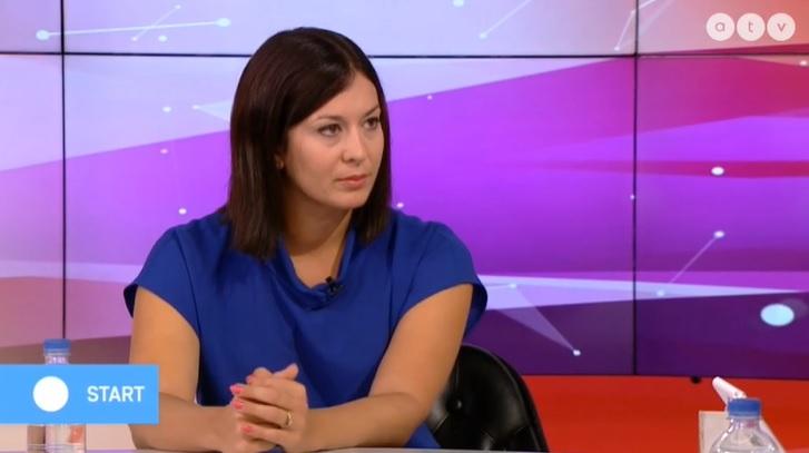 Cseh Katalin az ATV-ben