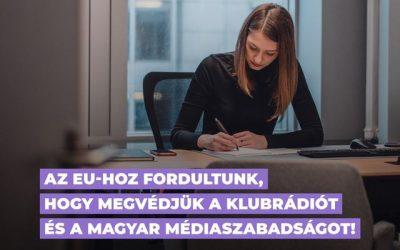 Az EU-hoz fordultunk a Klubrádió és a Médiatanács ügyében