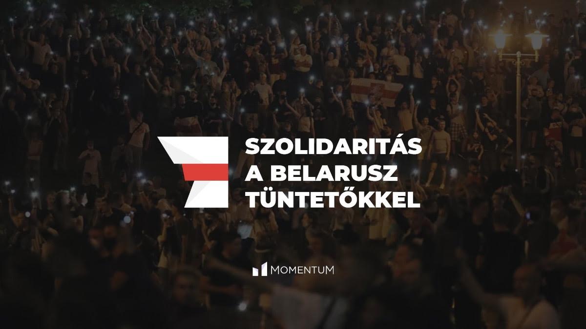 Szolidaritás a belarusz tüntetőkkel