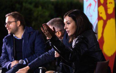 Cseh Katalin és Orbán Balázs vitája az uniós pénzekről