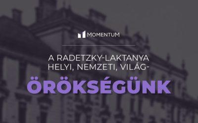 Kiálltunk a Radetzky-laktanya megmentéséért