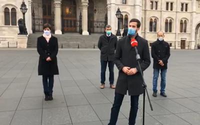 Szövetség Szél Bernadett, Hadházy Ákos és Szabó Szabolcs képviselői csoportjával
