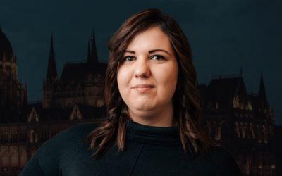 Paróczai Anikó a budapesti 9-es választókerület képviselőjelöltje