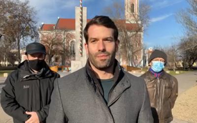 Szabó Szabolcs a Momentum színeiben indul 2022-ben
