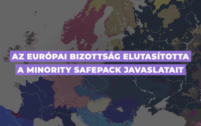Az Európai Bizottság elutasította a Minority SafePack javaslatait