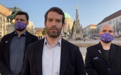 Fekete-Győr András bemutatta a Momentum pécsi jelöltjeit