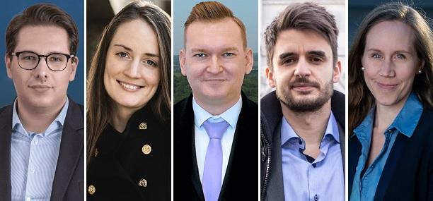 Öt új jelölt