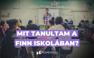 Mit tanultam a finn iskolában?